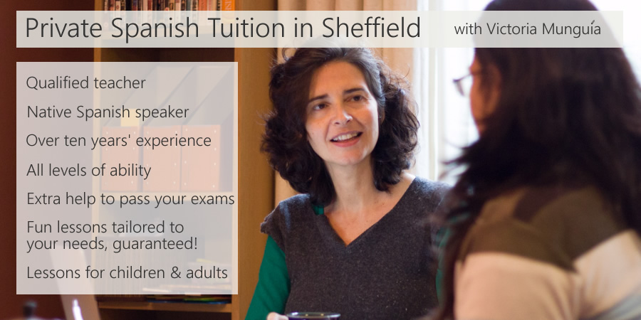 Learn Spanish in Sheffield with Victoria Munguia